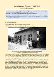 Barn i Vester Egede - 1930-1945