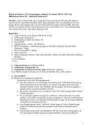 1 Referat af møde nr. 61 i Licensgruppen, onsdag d. 10 ... - DEFF