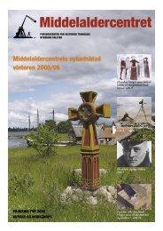 Middelaldercentrets Nyhedsblad vinteren 2005/06 (pdf-fil, 1,2MB)