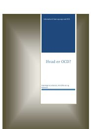 Information til børn og unge med OCD - Psykologerne Johansen ...