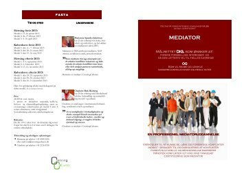 Publikation - DK- mediatoruddannelse 2013.pub - Crossing Cultures