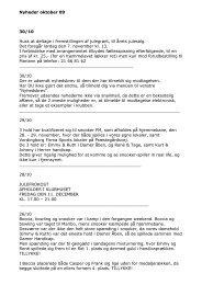 Nyheder oktober 2009 - Vordingborg Handicap Idræt