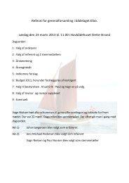 Referat af generalforsamling lørdag 23. marts 2013