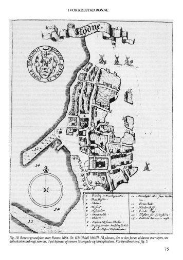 I vor købstad Rønne - Bornholms Historiske Samfund