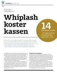 Whiplash koster kassen fra Livtag #1 - PTU