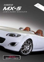 Jubiläums-magazin - Miata MX-5 Roadster Club