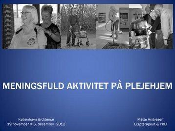 Mette Andresen - Type2dialog