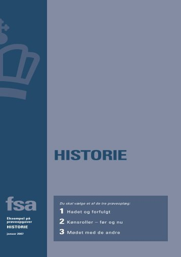 FSA Historie januar 2007 (pdf)