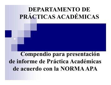 Norma APA Psicología - Universidad Católica de Pereira