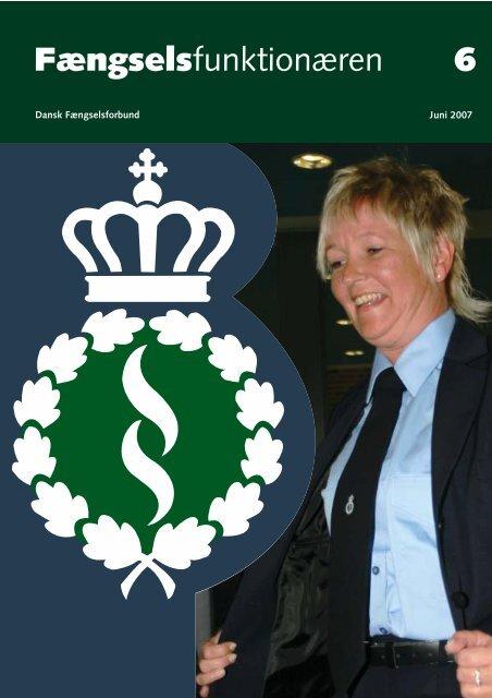 Fagblad 06/2007 - Fængselsforbundet