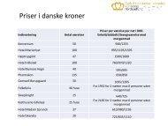 Priser i danske kroner - PIF.NU