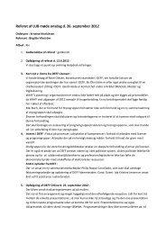 Referat af møde nr. 20 - DEFF