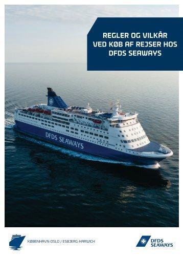Rejsevilkår og bestemmelser - klik og læs / print ... - DFDS Seaways