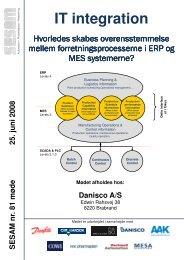 IT integration - SESAM World