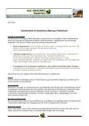 Bestemmelser for benyttelse/udlejning af Fælleshuset