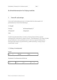 Kvalitetsdokument Esbjerg - National Vandressource Model