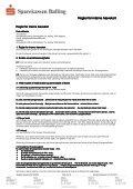 Regler for interne hævekort - Sparekassen Balling - Page 2
