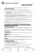 Regler for interne hævekort - Sparekassen Balling - Page 3