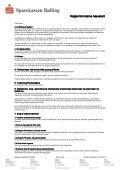 Regler for interne hævekort - Sparekassen Balling - Page 4