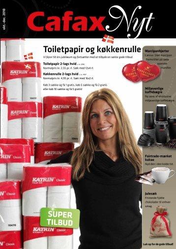 Toiletpapir og køkkenrulle - Cafax