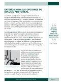 Entendiendo Sus Opciones De Diálisis Peritoneal - ESRD Network ... - Page 3