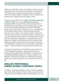Entendiendo Sus Opciones De Diálisis Peritoneal - ESRD Network ... - Page 5
