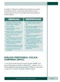 Entendiendo Sus Opciones De Diálisis Peritoneal - ESRD Network ... - Page 7