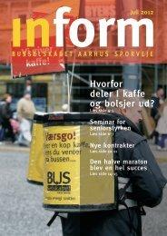 Inform 269 - juli 2012 - Busselskabet Århus Sporveje