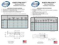 PinLock Bushing Instructions - Kurt Workholding