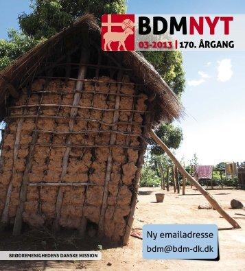 nr. 3/2013 - Brødremenighedens Danske Mission