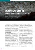 DonorbloD reDDer uføDt sIDe 6-7 - Bloddonorerne i Danmark - Page 4