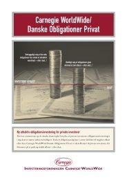 Carnegie WorldWide/ Danske Obligationer Privat