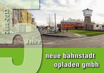 Bildband 5 Jahre neue bahnstadt opladen gmbh
