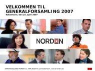 generalforsamling 2007 - DS Norden