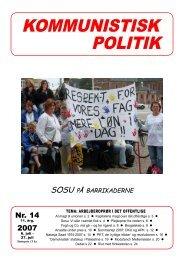 2007 - Kommunistisk Politik