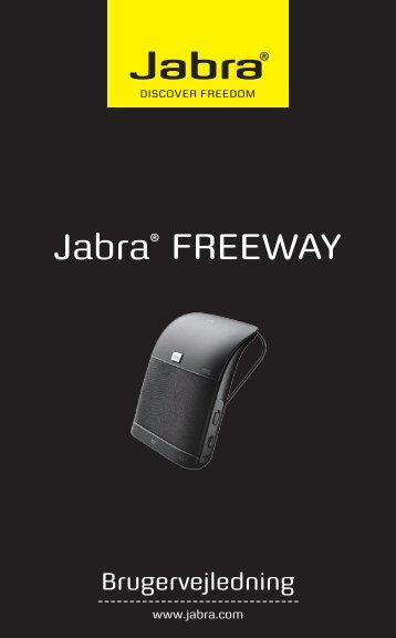 Jabra® FREEWAY - Erling Simonsen - hjemmeside