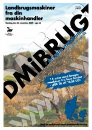 Landbrugsmaskiner fra din maskinhandler - Dansk Maskinhandel
