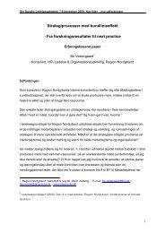 Strategiprocesser med bundlinieeffekt - Fra ... - fair proces