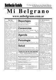 Mayo de 2006 - Mi Belgrano
