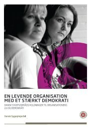 En levende organisation med et stærkt demokrati - Dansk ...