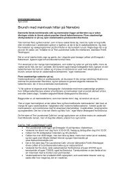 April 2005 - Brunch med møntvask hitter på Nørrebro... - Electrolux ...