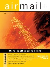Powering up with clean air Mere kraft med ren luft - Camfil Farr