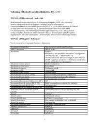 Veiledning til forskrift om lufttrafikkledelse, BSL G 8-1 - Luftfartstilsynet