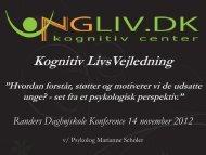 Kognitiv LivsVejledning - Daghøjskolen i Randers