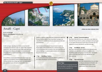 Amalfi - Capri