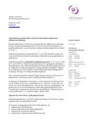 Bacheloruddannelsen i forhistorisk arkæologi - ACE Denmark
