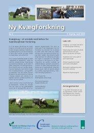 Ny Kvægforskning nr. 2, April 2006 - Kvægbrugets Forsøgscenter