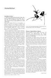 Anmeldelser - Dansk Ornitologisk Forening