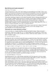 Med CAS kan alle bestå matematik C Allan Tarp, VUC Aarhus ...