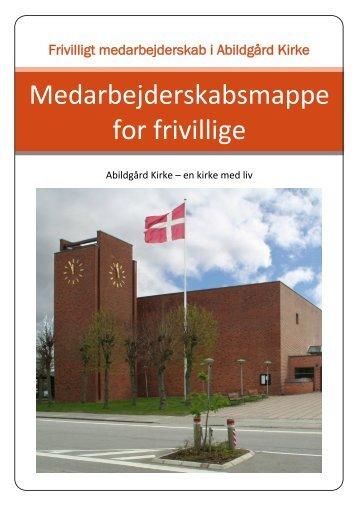 Medarbejderskabsmappe for frivillige - Abildgaard Kirke